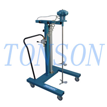 Aerosol explosion-proof trolley for 200L tank
