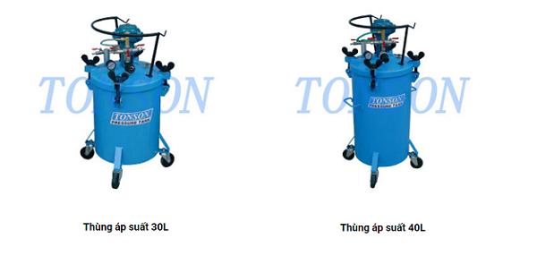 Thùng áp suất Tonson 30L và 40L